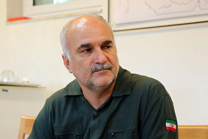محمد شهاوند رئیس مراکز انتقال نفت خطوط لوله و مخابرات منطقه خلیجفارس به صورت علی البدل