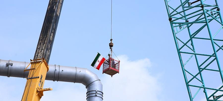 راه اندازی واحدتقطیر فاز ٢ پالایشگاه ستاره خلیج فارس 6