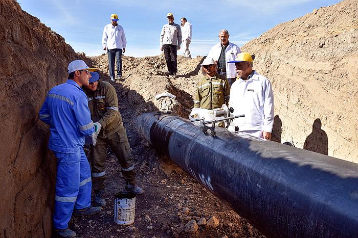 انتقال گاز منطقه 5 انتقال گاز  1