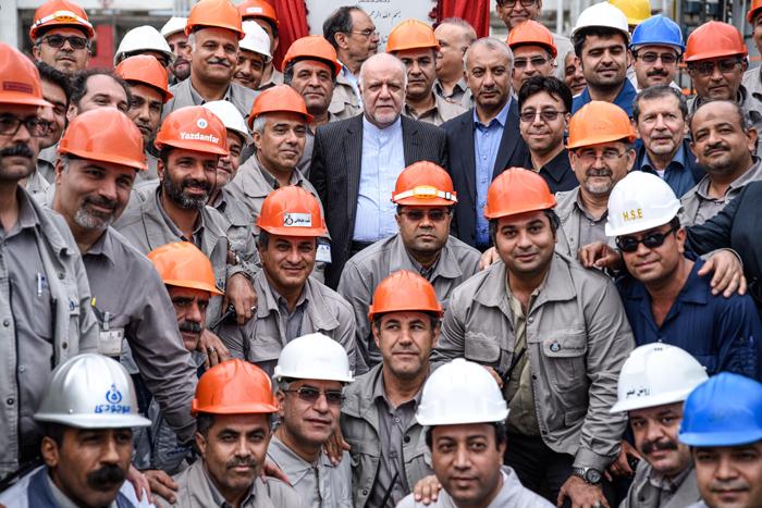 افتتاح طرح افزایش تولید و ارتقا کیفیت بنزین پالایشگاه نفت بندرعباس 4
