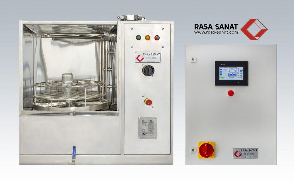 دستگاه شیشه شوی ظروف آزمایشگاهی(صنعت نفت)