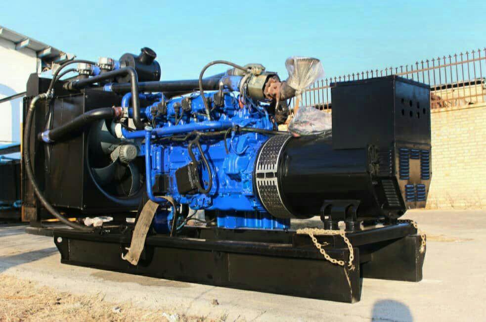 موتور ژنراتور گاز سوز دائم کار