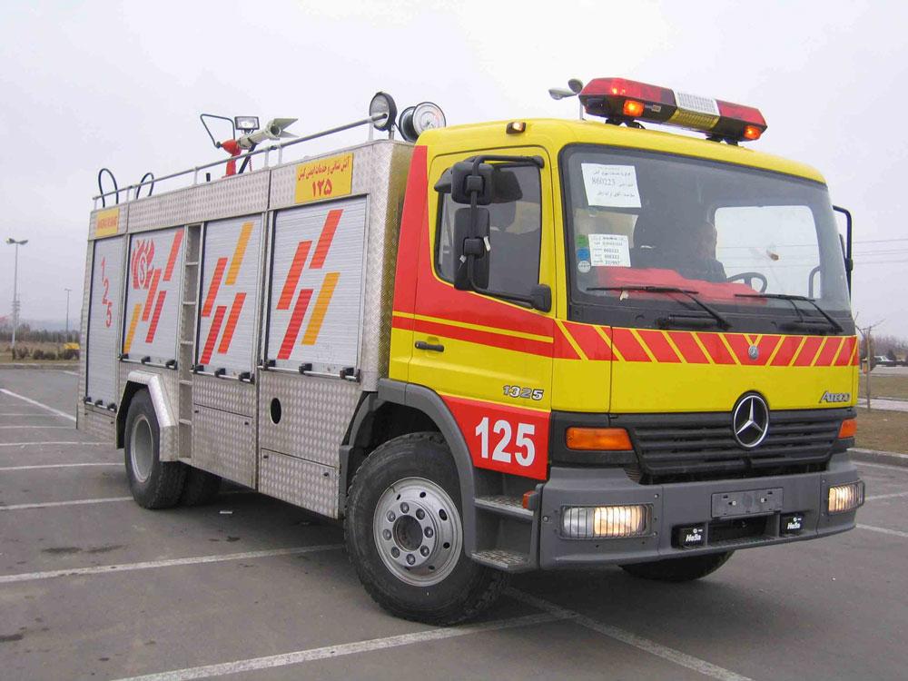 خودروهای نیمه سنگین آتش نشانی