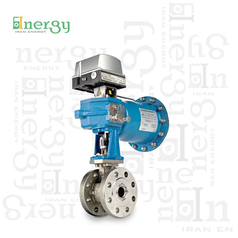 شیر کنترل روتاری متسو   Metso rotary control valve