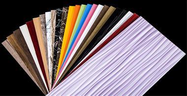 ورق فومیزه روکش طرح چوب پی وی سی طرح چوب PVC