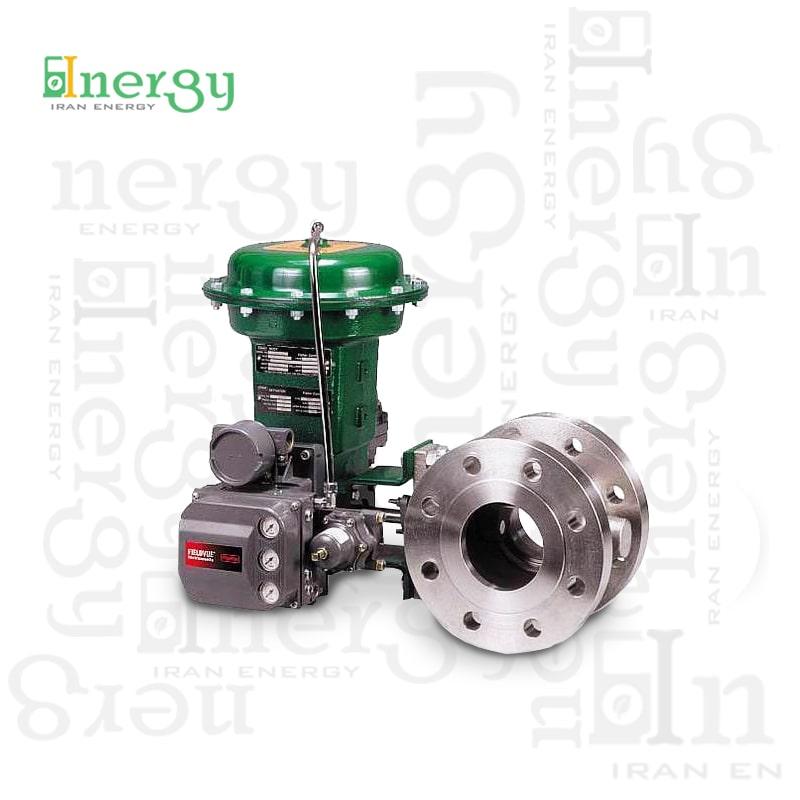 کنترل ولو فیشر (دورانی) | Fisher Rotary control valve